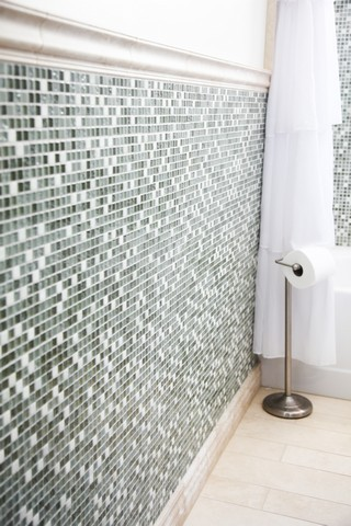 Bathroom Tile walls remodel