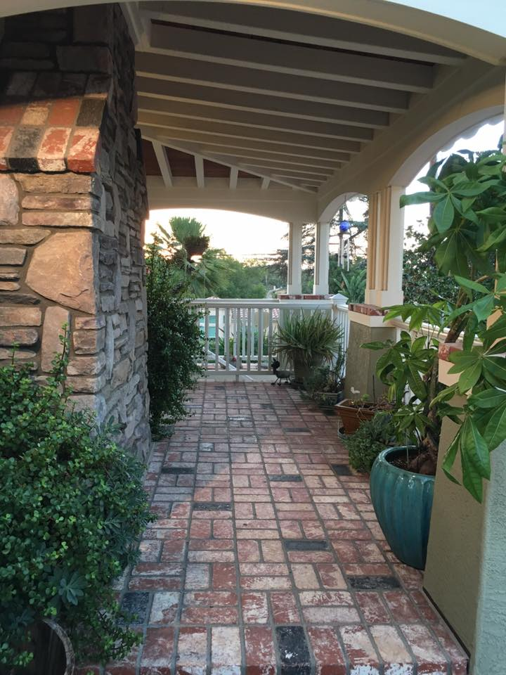 San Diego Garden Porch Remodel